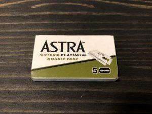 【両刃カミソリ】最高の切れ味とコストパフォーマンス Astra Superior Platinum